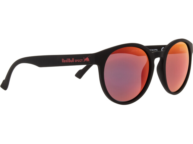 Red Bull SPECT Lace Sunglasses black/smoke-red